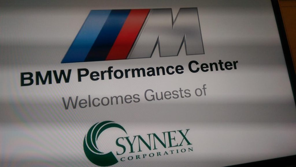 Lockstep and Synnex Team-Build at the BMW Performance Center