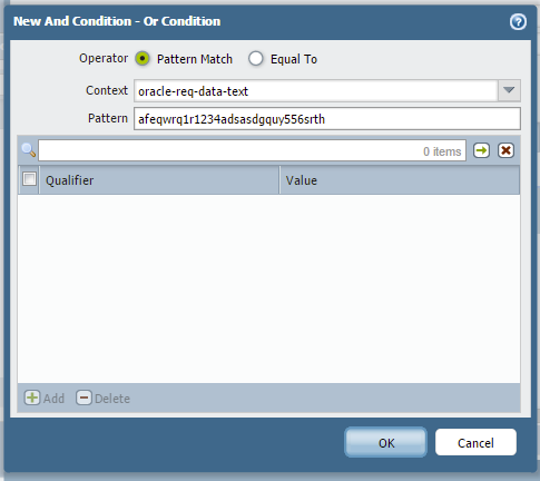 application-id_and-condition-oracle