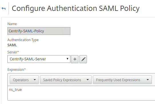 Centrify as SAML IdP with NetScaler and XenDesktop