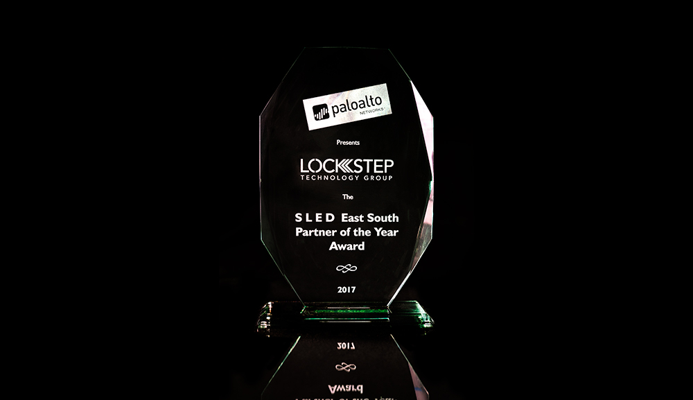 Lockstep Honored as Palo Alto Networks Southeast SLED Partner of the Year